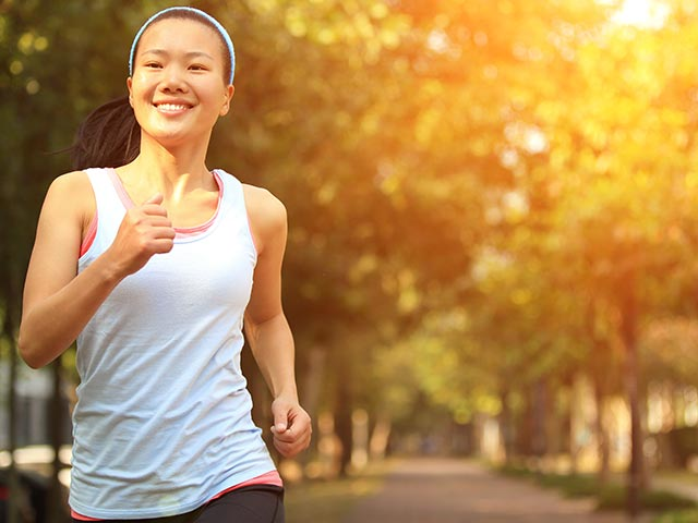 Jogging is a Benefit of Wellness Classes