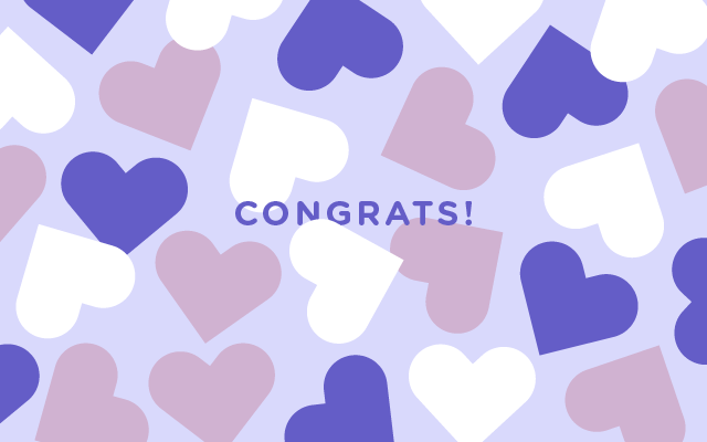 Spa Gift Cards - Congratulations